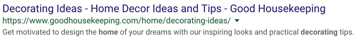 example-decorating ideas meta description